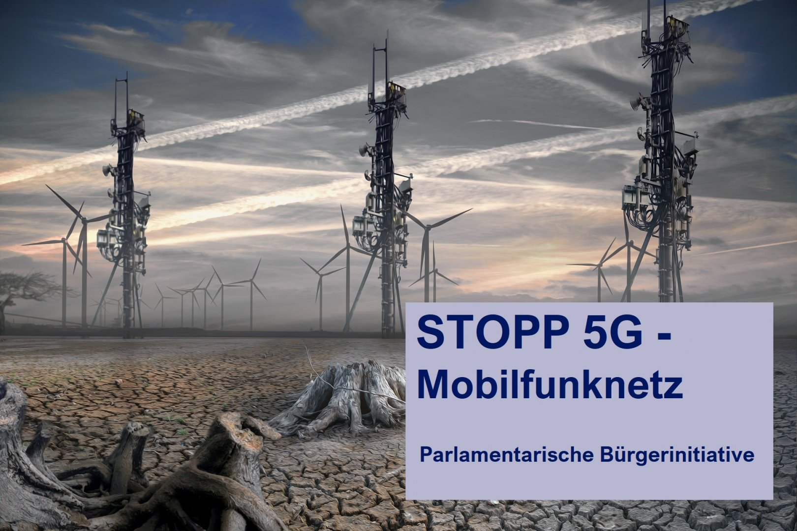 STOPP 5G Mobilfunknetz